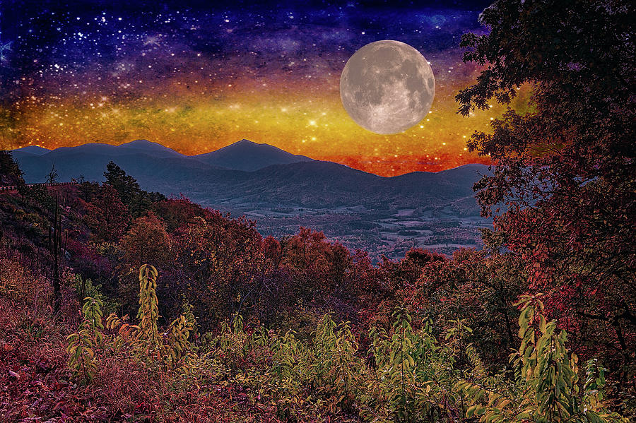 Moon in the Blue Ridge FX by Dan Carmichael