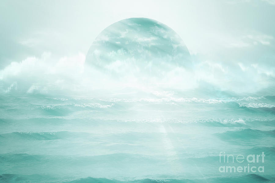 Moon in the Sea by Hal Halli