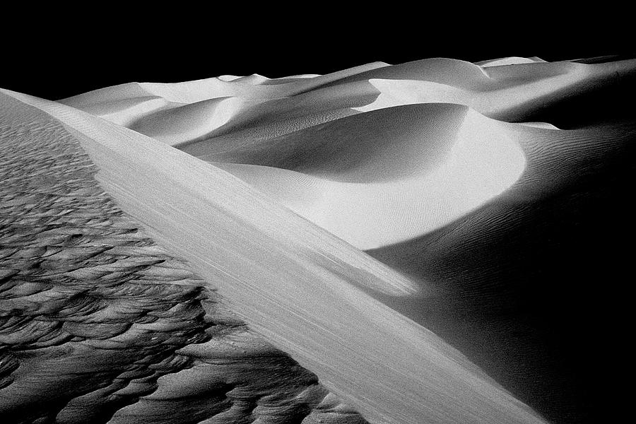 Sand Dunes Photograph - Moon Light Dunes by Paul W Faust -  Impressions of Light