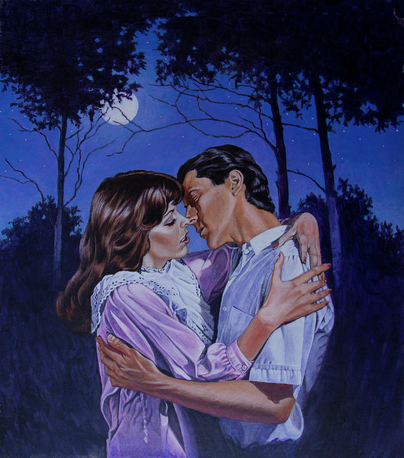 Moon Light Kiss by Richard De Wolfe