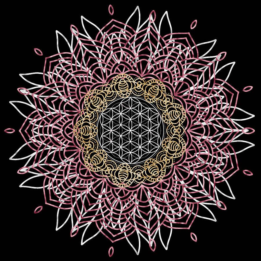 Moon Mandala by Bee-Bee Deigner