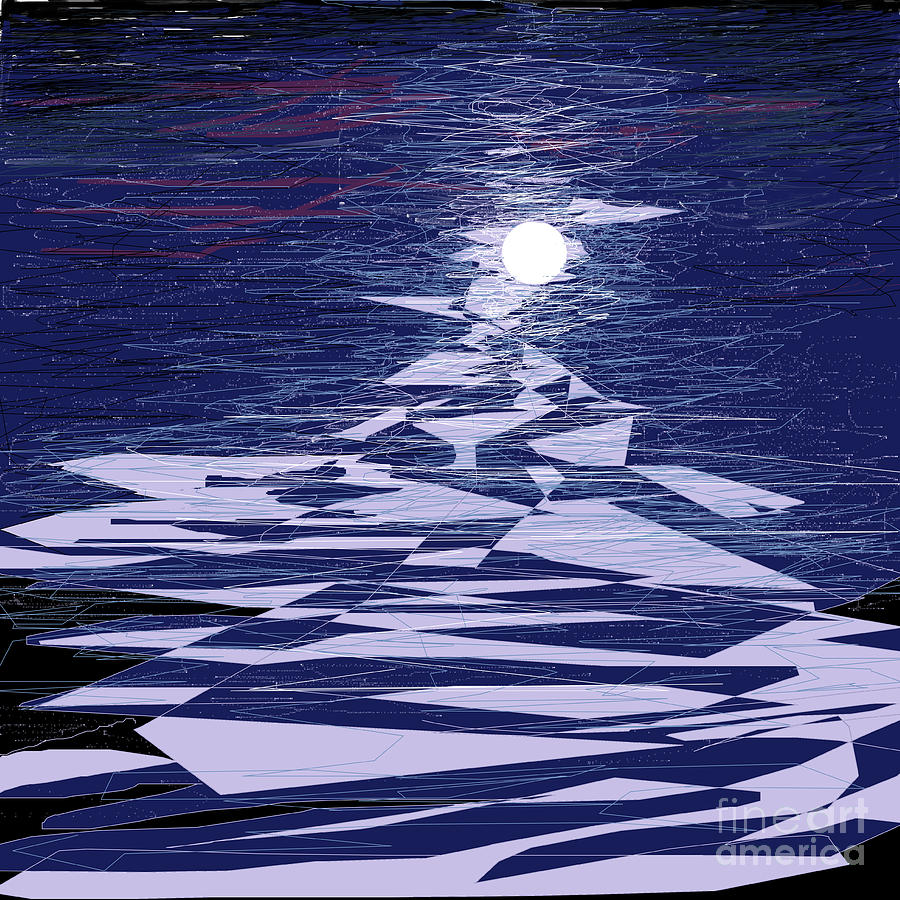 Moon on Water by Jennfer Thomas