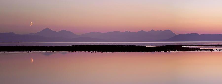 Moon Over Island Photograph by Jonny Hirons Photography