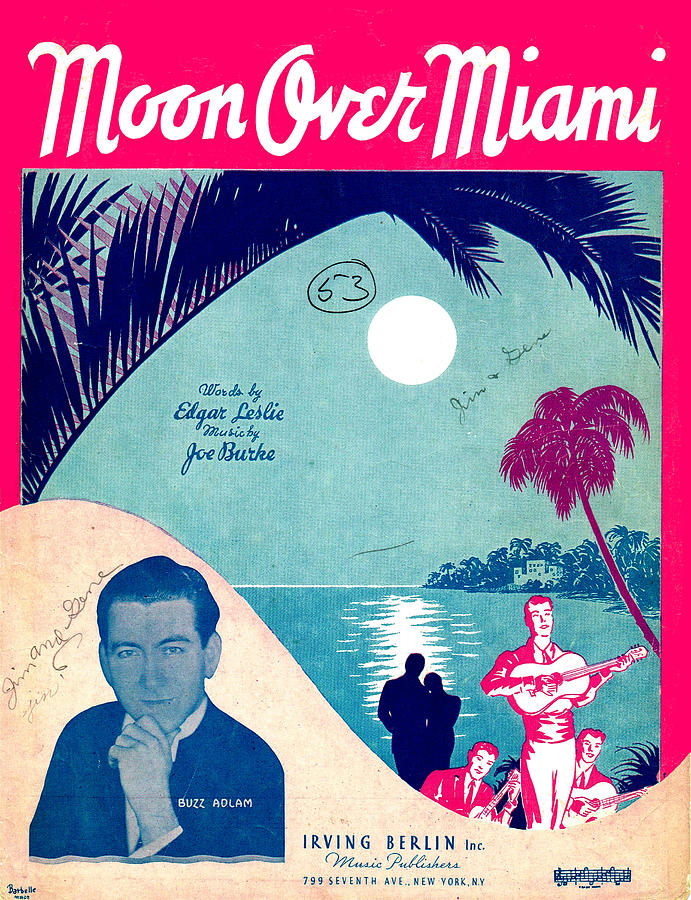 Moon Over Miami by Mel Thompson