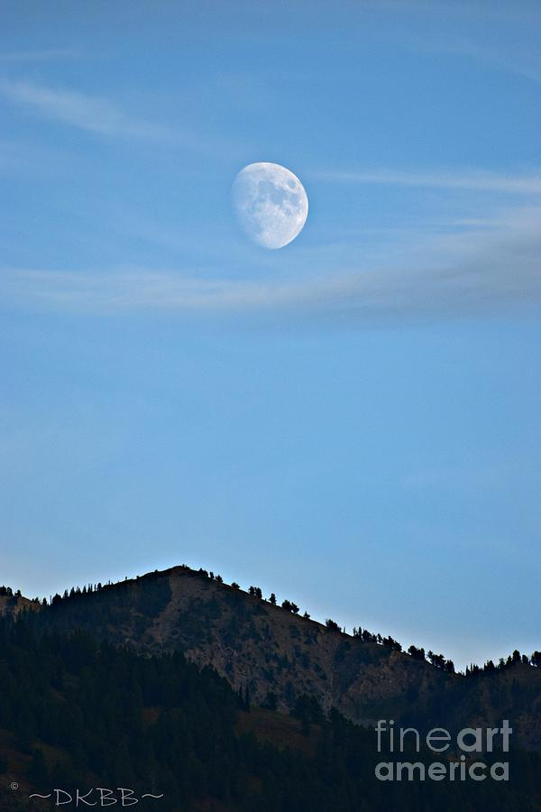 Moon Over the Mountains by Dorrene BrownButterfield