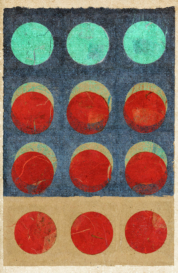 Moon Phases 2 by Carol Leigh