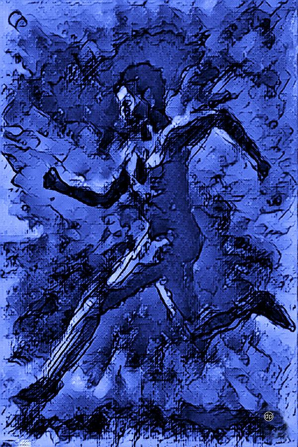 Moon Runner by Digital Painting