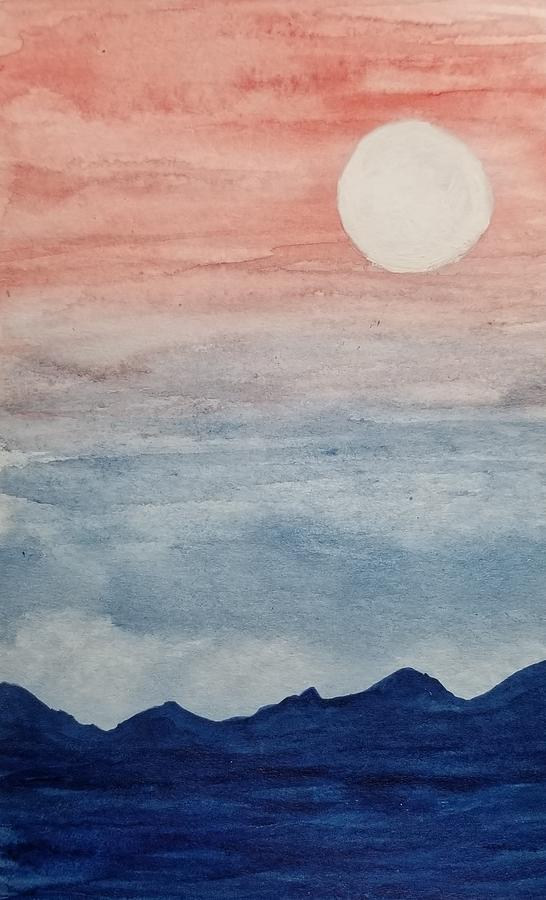 Moonlight in the Mountains  by KRISTIN MCDONNEL