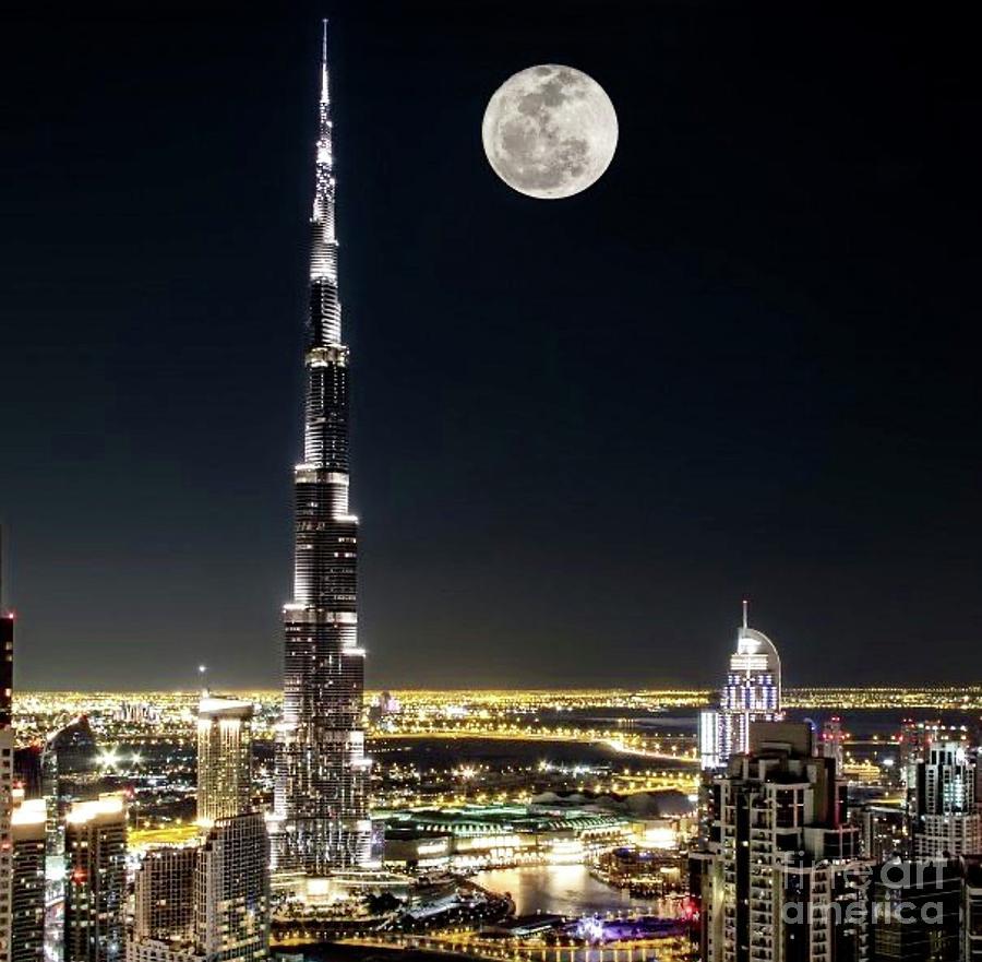 Moonlight over Dubai  by EliteBrands Co