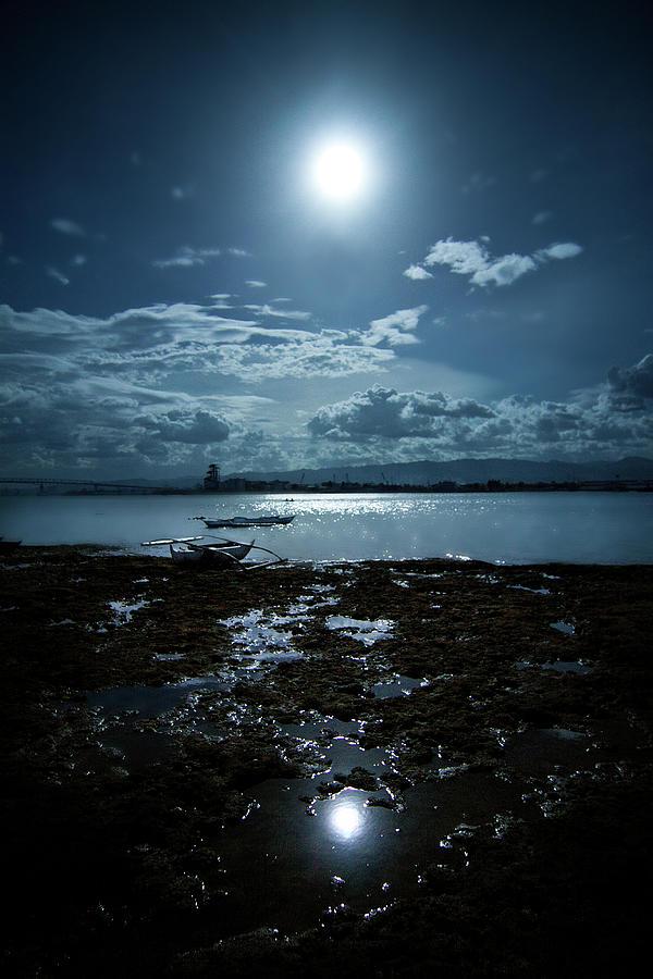 Moonlight Photograph by Rodell Ibona Basalo