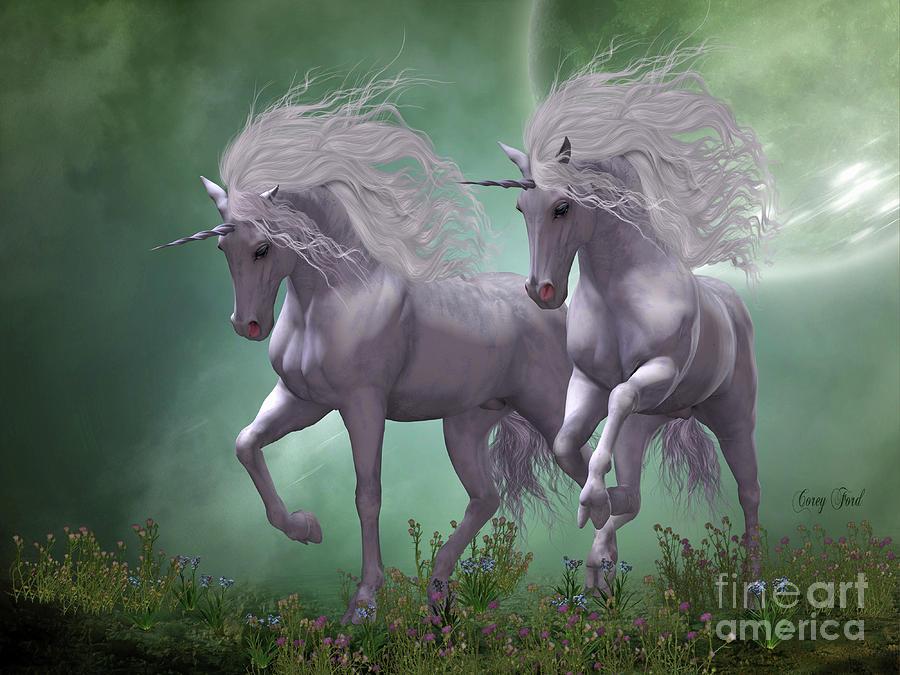 Moonlight Unicorns by Corey Ford