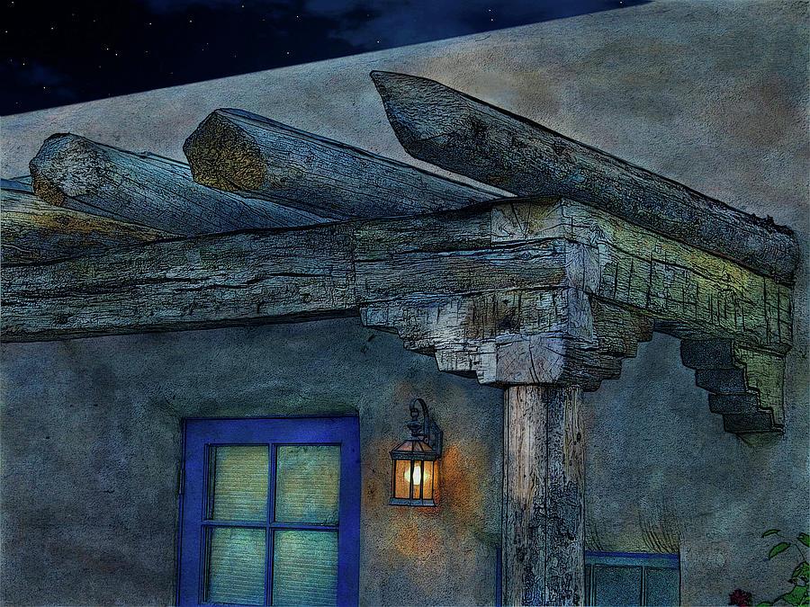Moonlight Veranda by Western Light Graphics