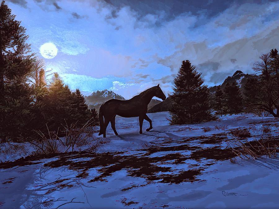 Moonlight Walk by Dave Luebbert