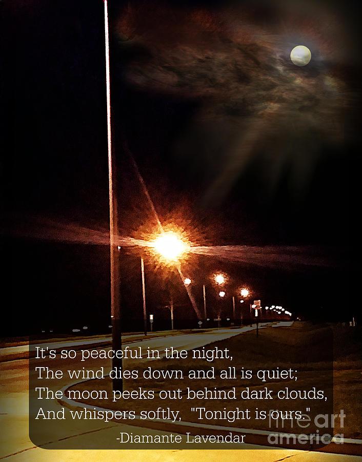 Moonlight Walk Poem by Diamante Lavendar
