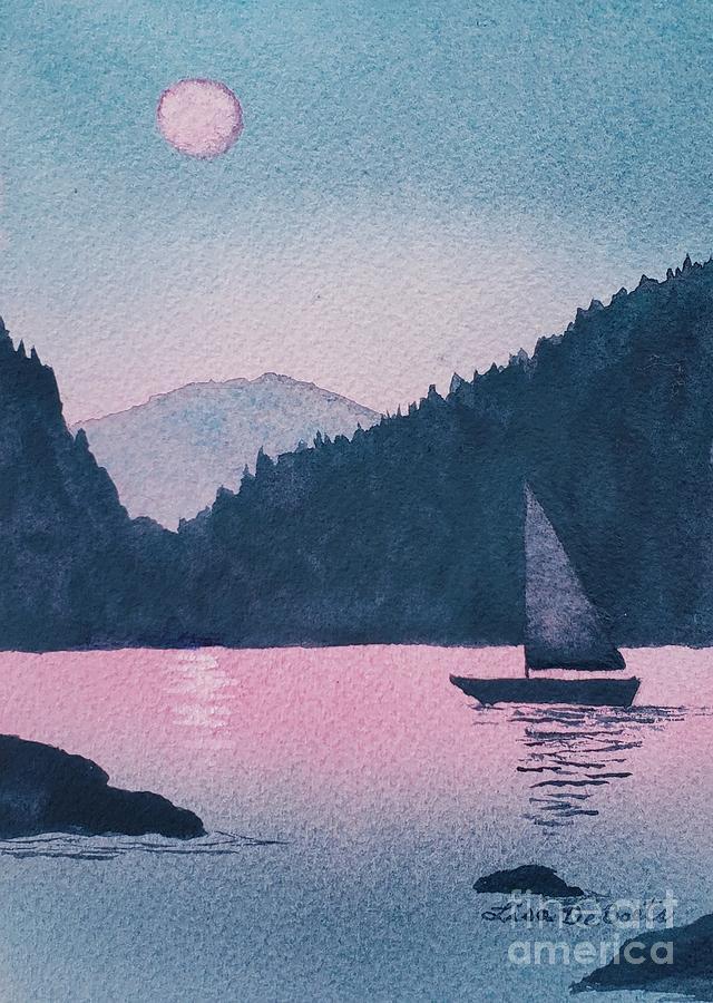 Moonlit Sails by LISA DEBAETS