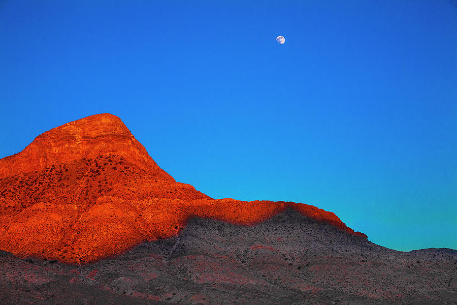 Nevada Photograph - Moonrise by Fernando Margolles