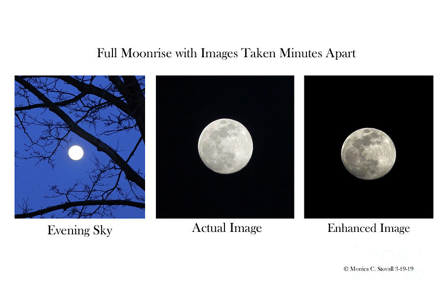 Moonrise Images by Monica C Stovall