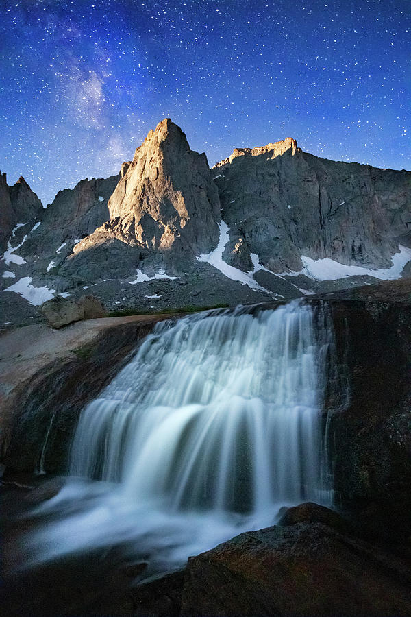 Moonrise in the Wind Rivers by Johnny Adolphson
