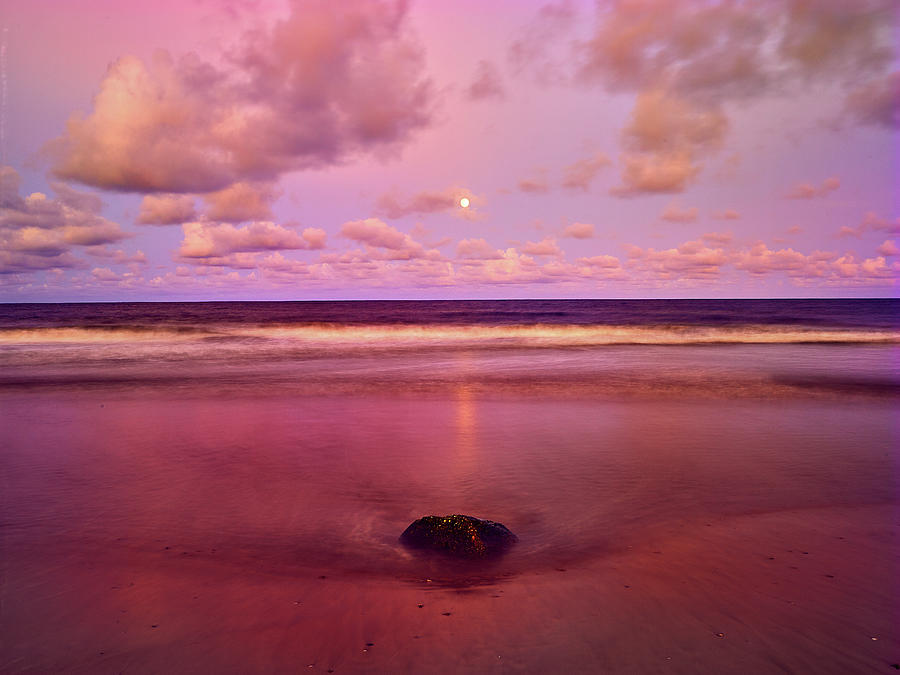 Moonrise, Mayaro by Trinidad Dreamscape