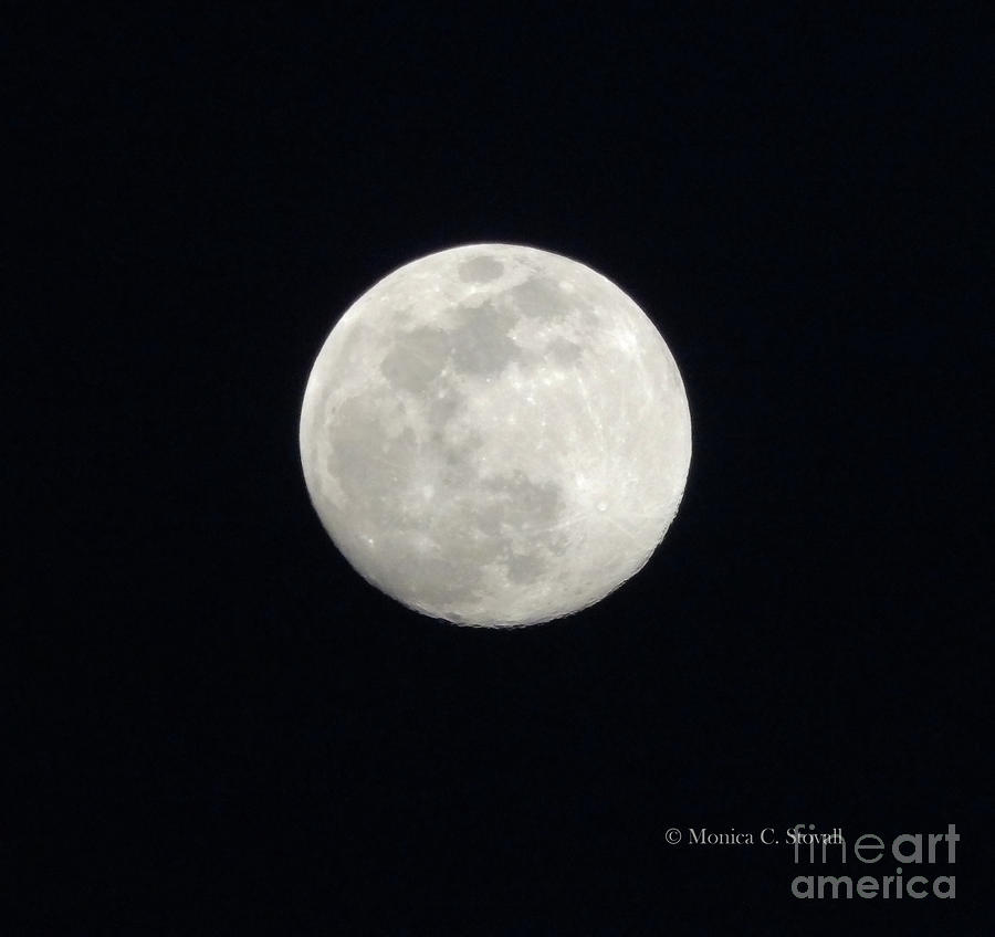 Moonrise Original Image Untouched by Monica C Stovall