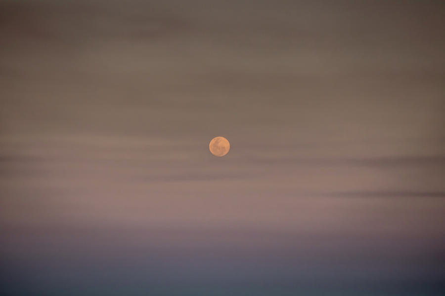 Moonrise Over The Ocean by Uncle Arny