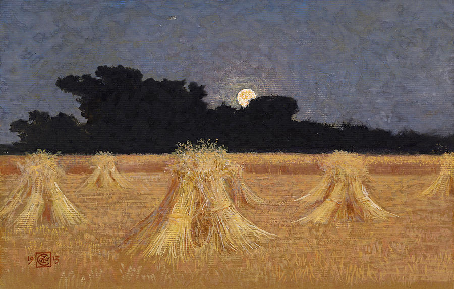 Moonrise by Walter Crane