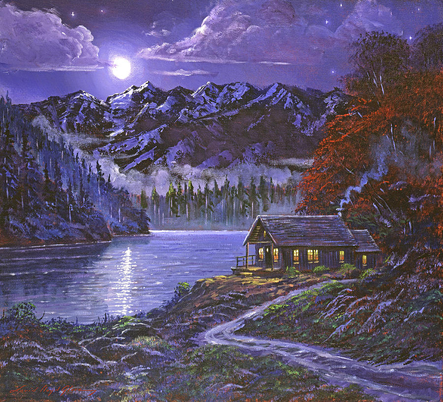 MOONSHADOW REFLECTIONS by David Lloyd Glover