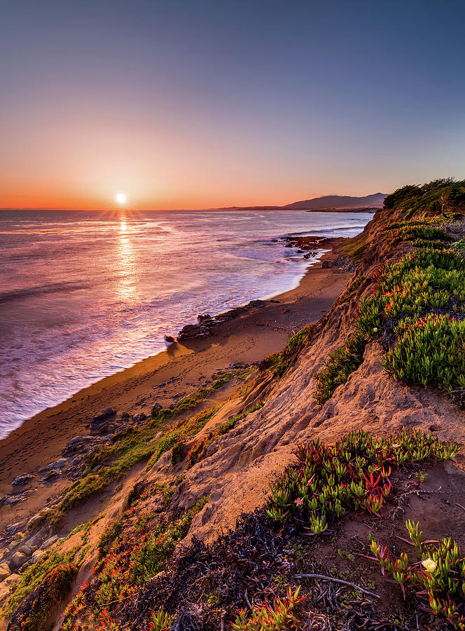 Moonstone Beach, Cambria by Alexis Birkill