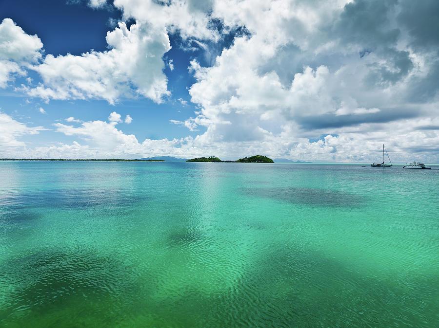 Moorea Island Atoll French Polynesia Photograph by Mlenny