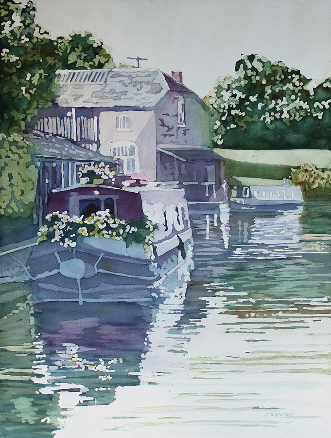 Moored Garden by Jenny Armitage