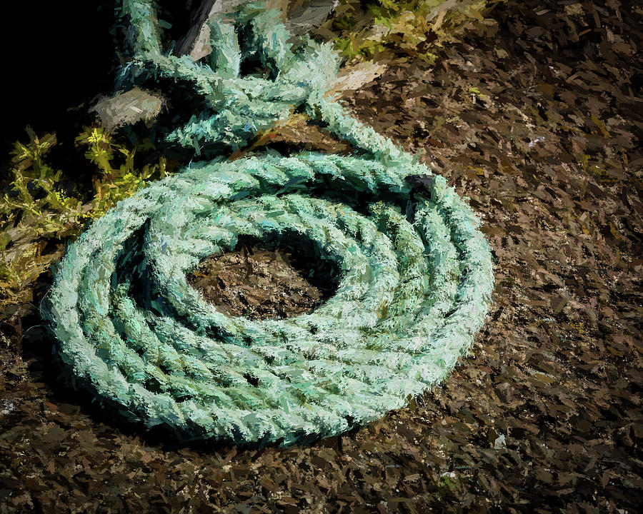 Mooring Line by Mike Penney