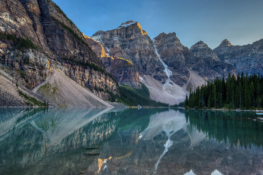 Moraine Lake at Sunset by Andy Konieczny