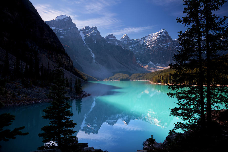 Moraine Lake, Banff National Park Photograph by Dan prat