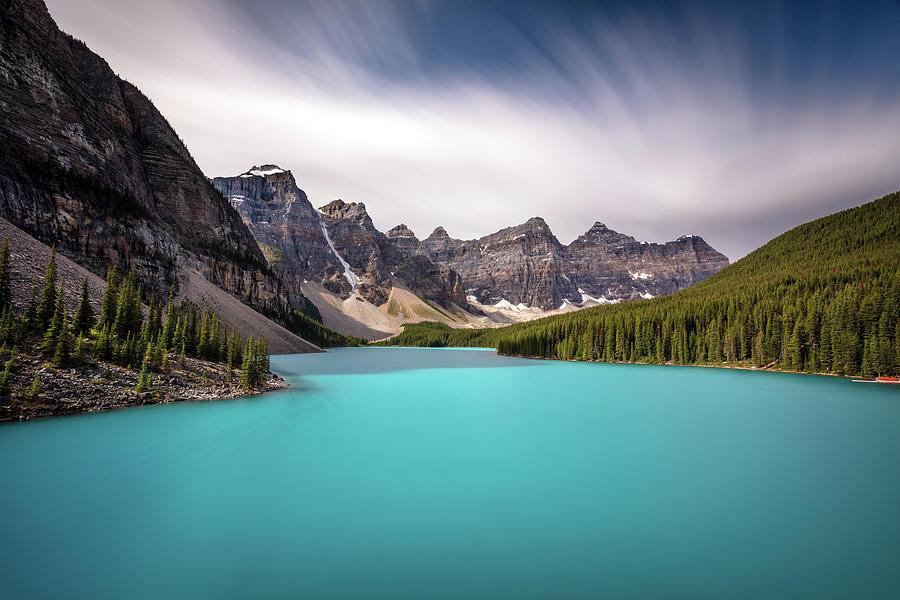 Moraine Lake Dreamscape.  by Pierre Leclerc Photography