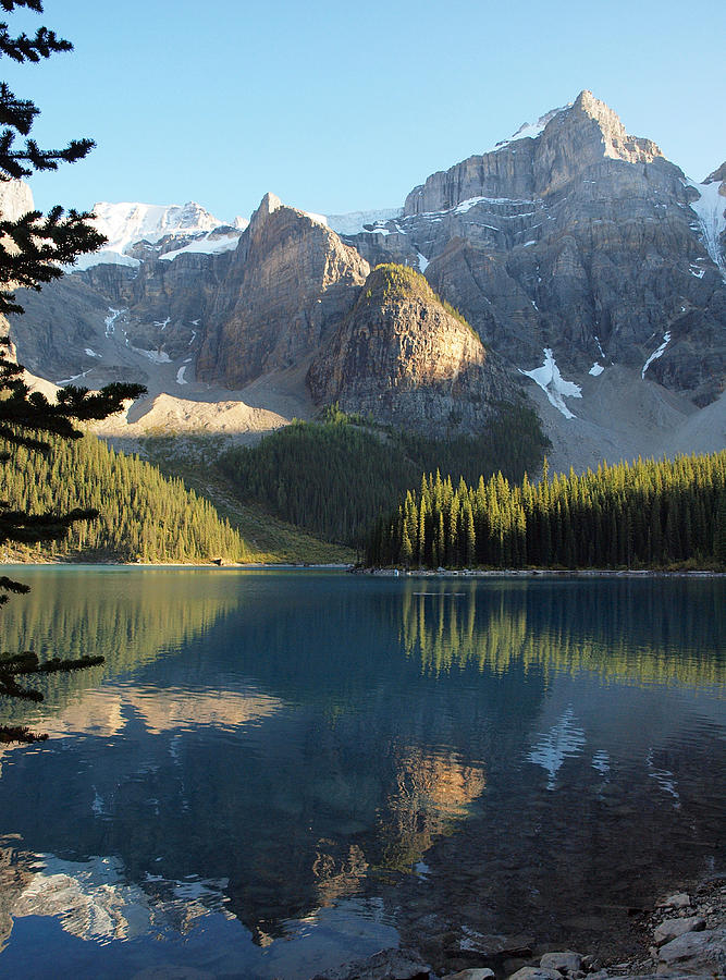 Moraine Lake In Banff National Park Photograph by Vienna Mornings