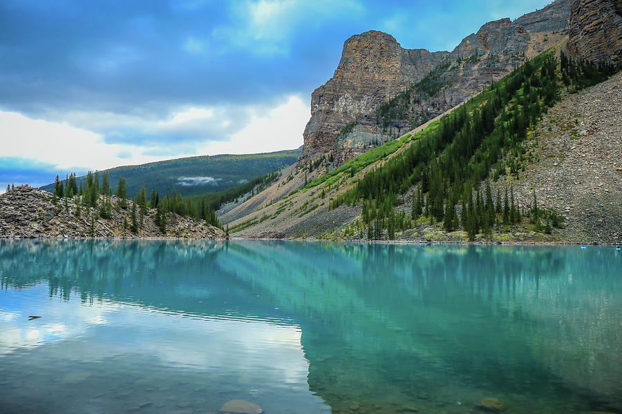 Moraine Lake Reflections by Dan Sproul