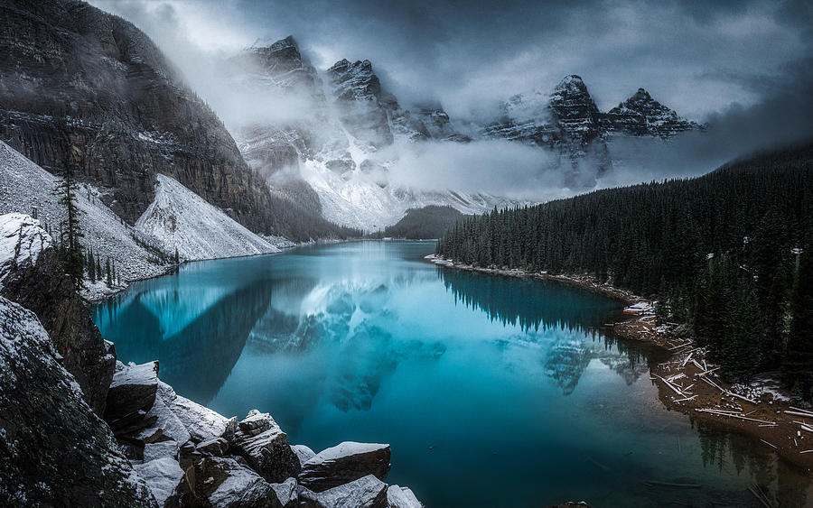Landscape Photograph - Moraine Lake by Timo Heinz