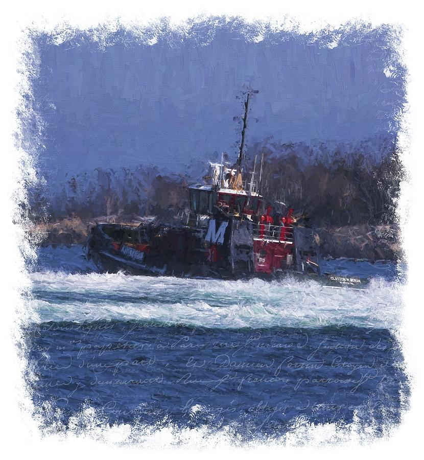 Moran Tug Digital Art by Krista Droop