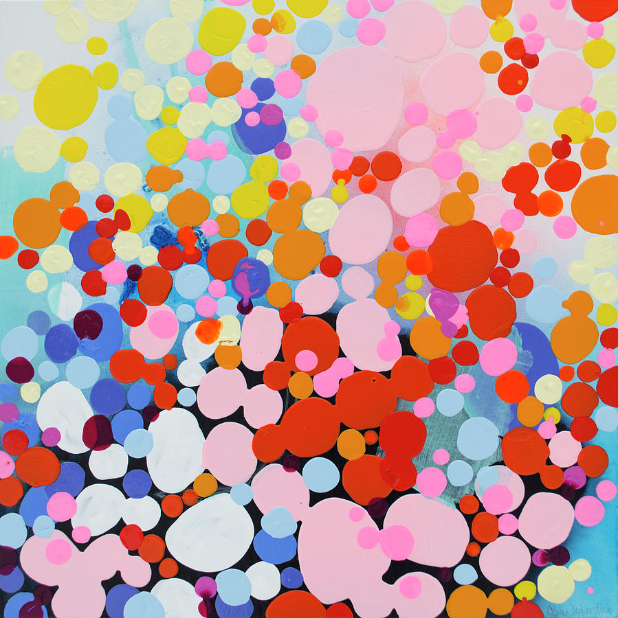 Abstract Painting - More Candles Than Cake by Claire Desjardins