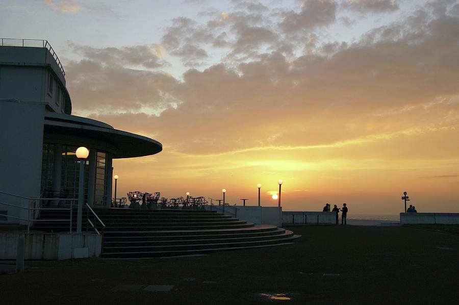MORECAMBE. Evening on the Bay by Lachlan Main