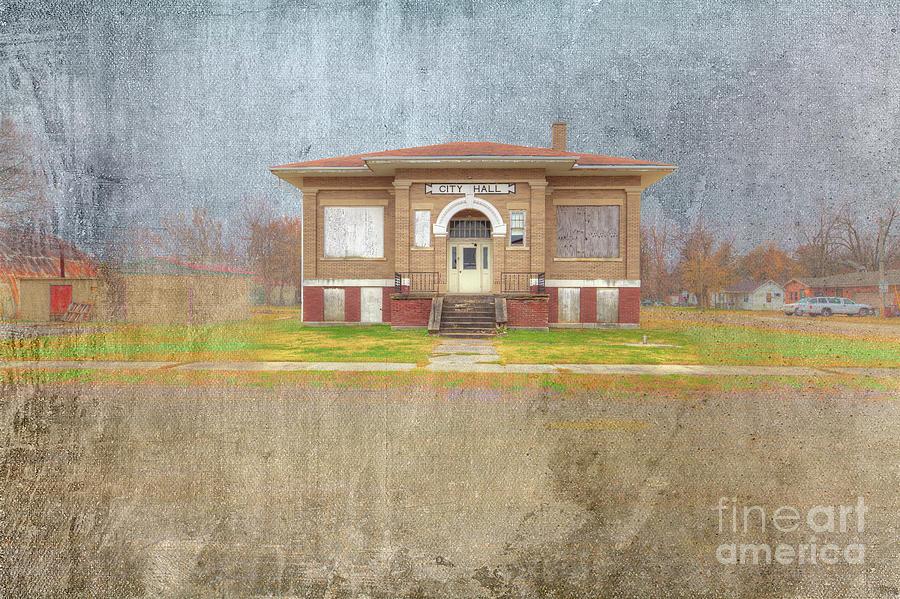 Hdr Digital Art - Morehouse Missouri  by Larry Braun