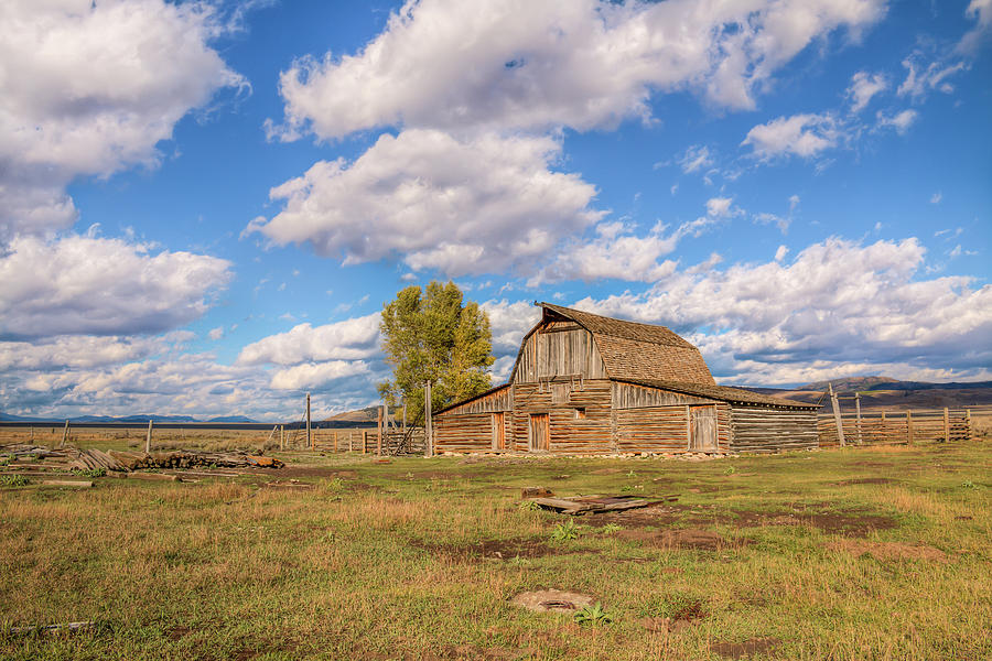 Mormon Row Barn 01085 by Kristina Rinell