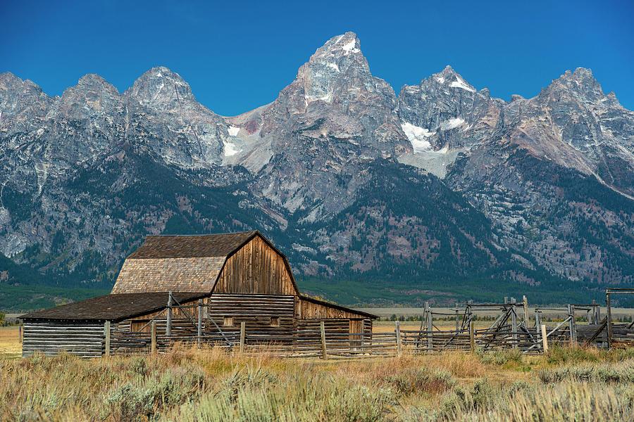 Mormon Row Barn at Grand Teton National Park by John Hoffman