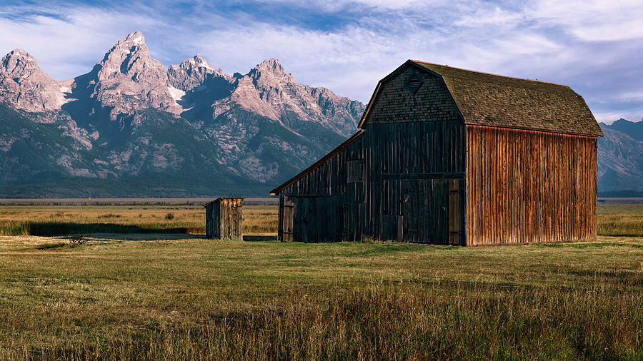 Mormon Row Barn by John Hight