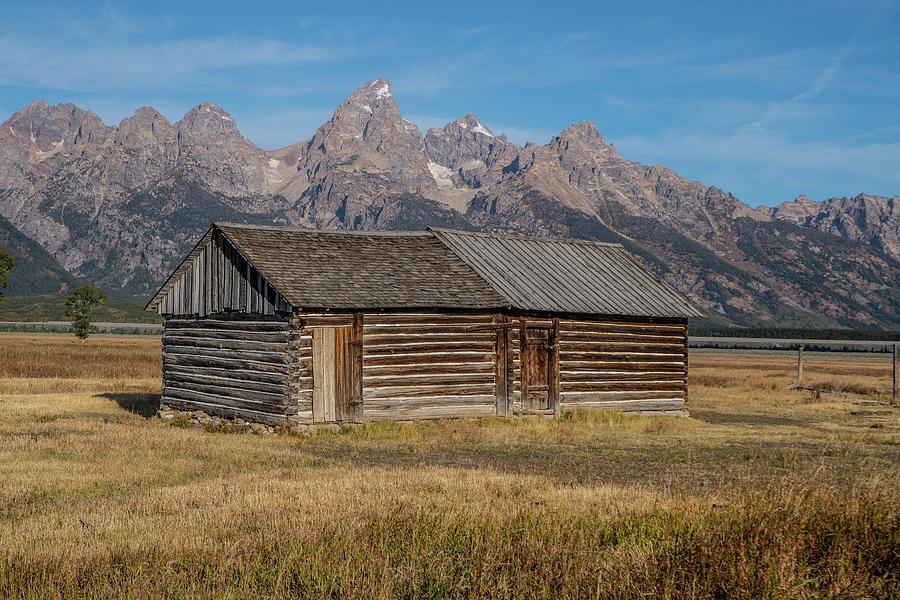 Mormon Row Log Cabin II by Matthew Irvin