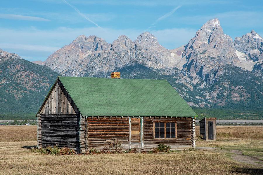 Mormon Row Log Cabin by Matthew Irvin