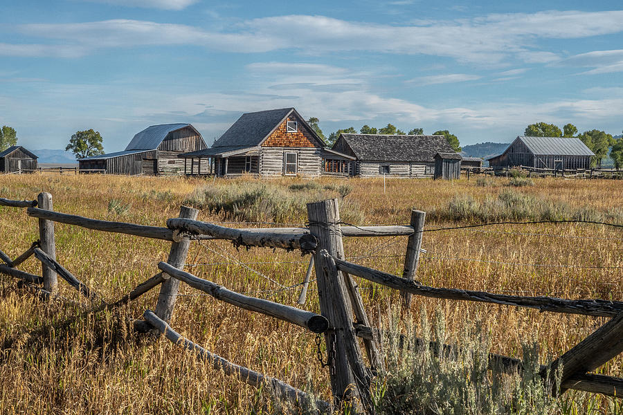 Mormon Row Ranch by Matthew Irvin