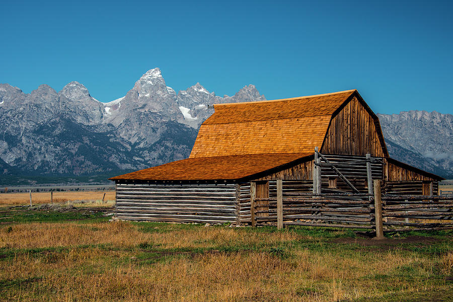 Mormons Barn 3779 by Donald Brown