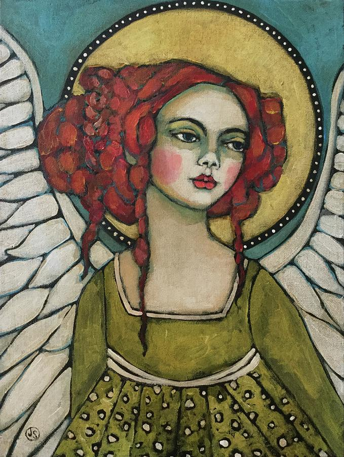 Angel Painting - Morning Angel by Jane Spakowsky