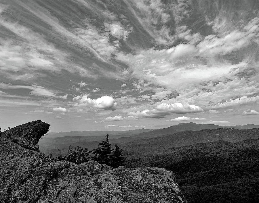 Morning at Blowing Rock by Dave Hilbert